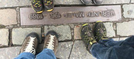 Mauerverlauf am Potsdamer Platz.