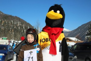 Lob von Bobo, dem Skischulmaskottchen.